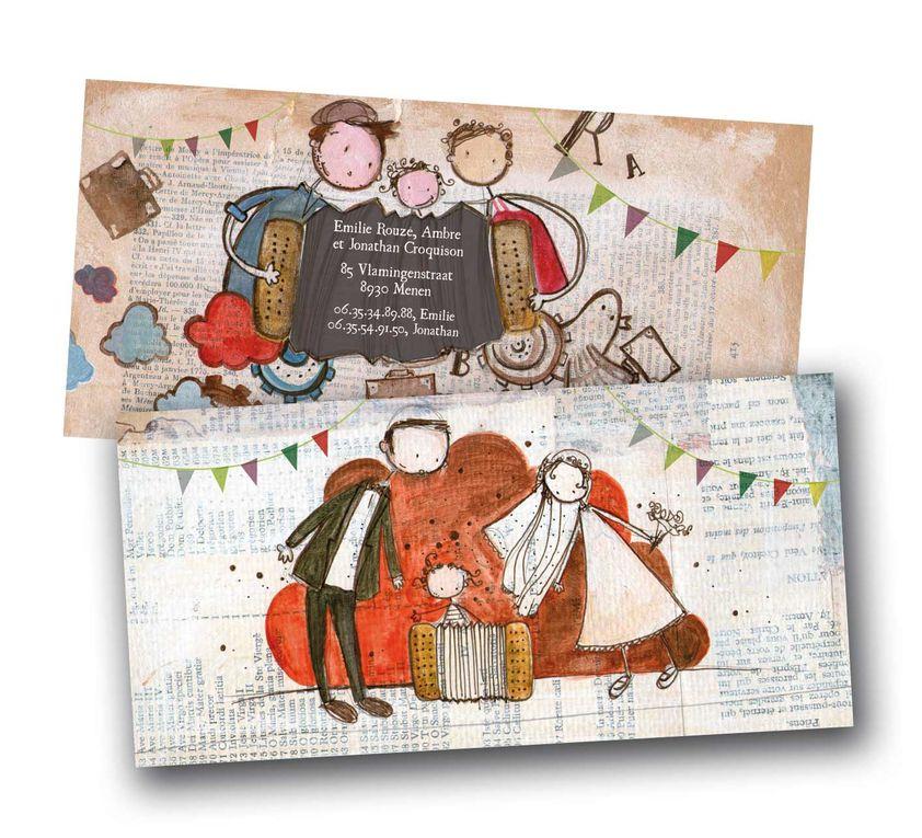 illustration réalisées pour un livre dédié