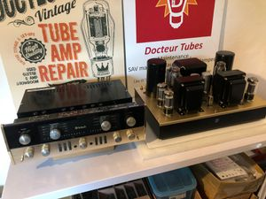 Amplificateurs intégrés à tubes.