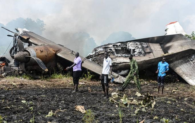 Plane crashes in South Sudan: At least 10 people killed