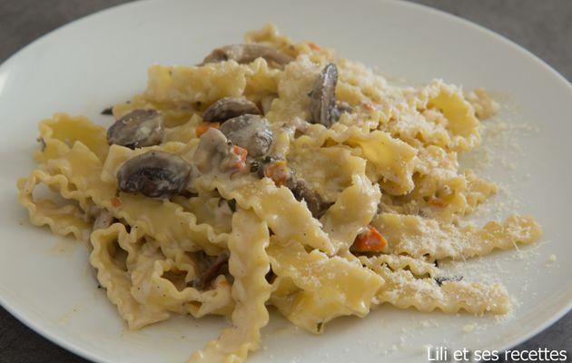 Malfadine aux champignons