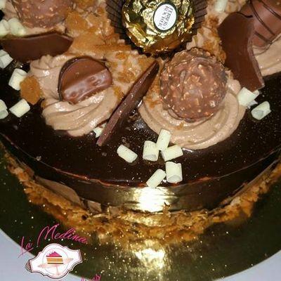 laye cake  kinder ferrero