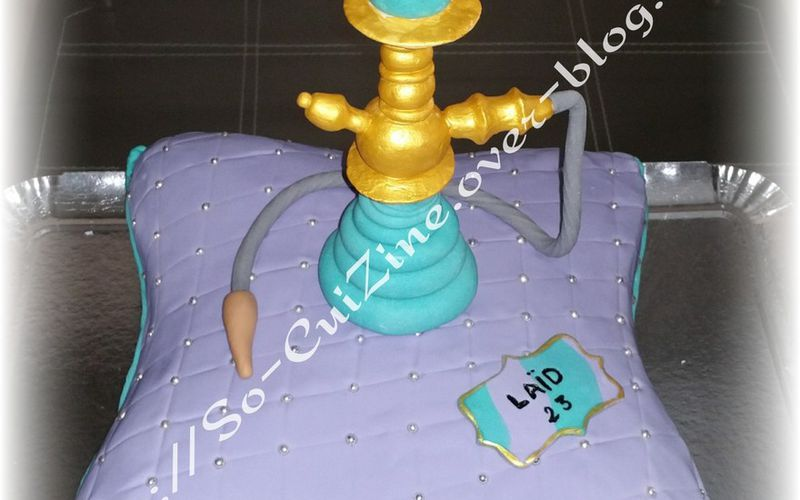 Cushion with Chicha Cake