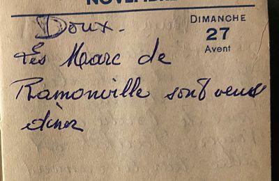 Dimanche 27 novembre 1960 - des invités