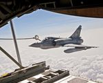 VMGR-352 refuels French Mirage 2000-5 over Djibouti