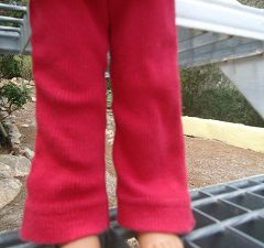 Pantalon pattes d'eph...