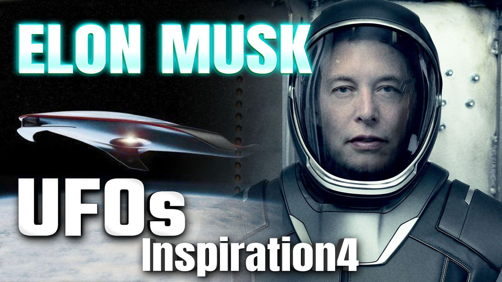 """Did A UFO Fly Past INSPIRATION4 during Rocket Launch ? SpaceX Boss ELON MUSK Claims """"There are UFOS"""""""