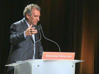 Bayrou, discours d'ouverture UR2012
