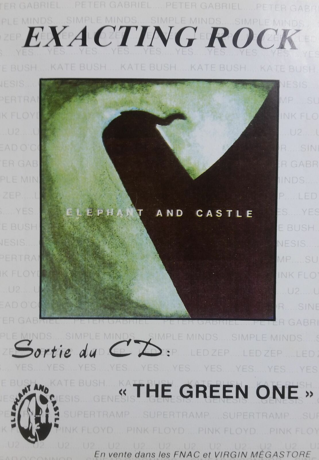 The Green One Flyer : E&C plays exacting rock