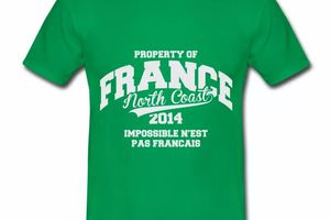 T shirt France North Coast Property HVR