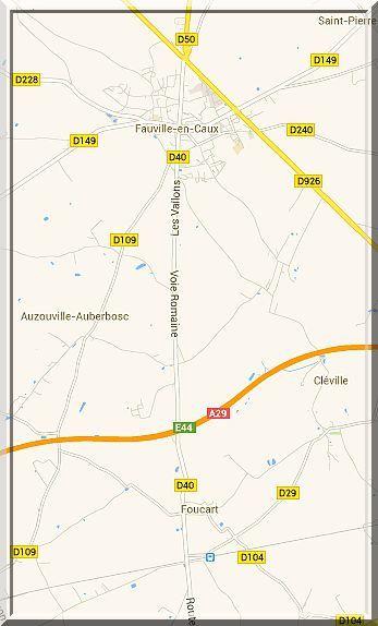 Diaporama manoir de CAUMARE à Foucart