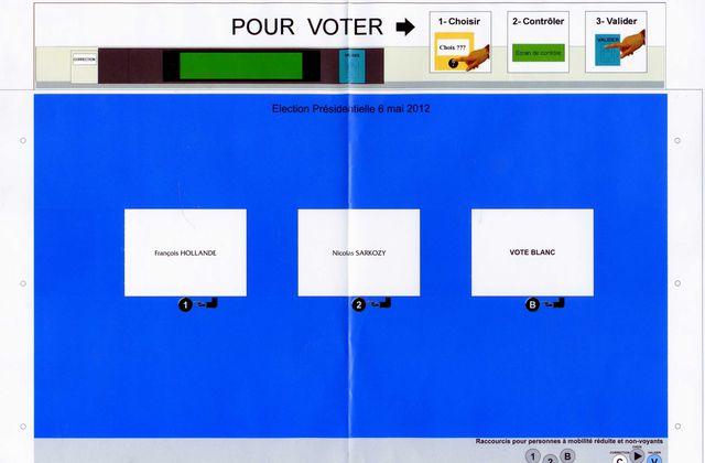 VOTE ELECTRONIQUE / PRESIDENTIELLE 2012