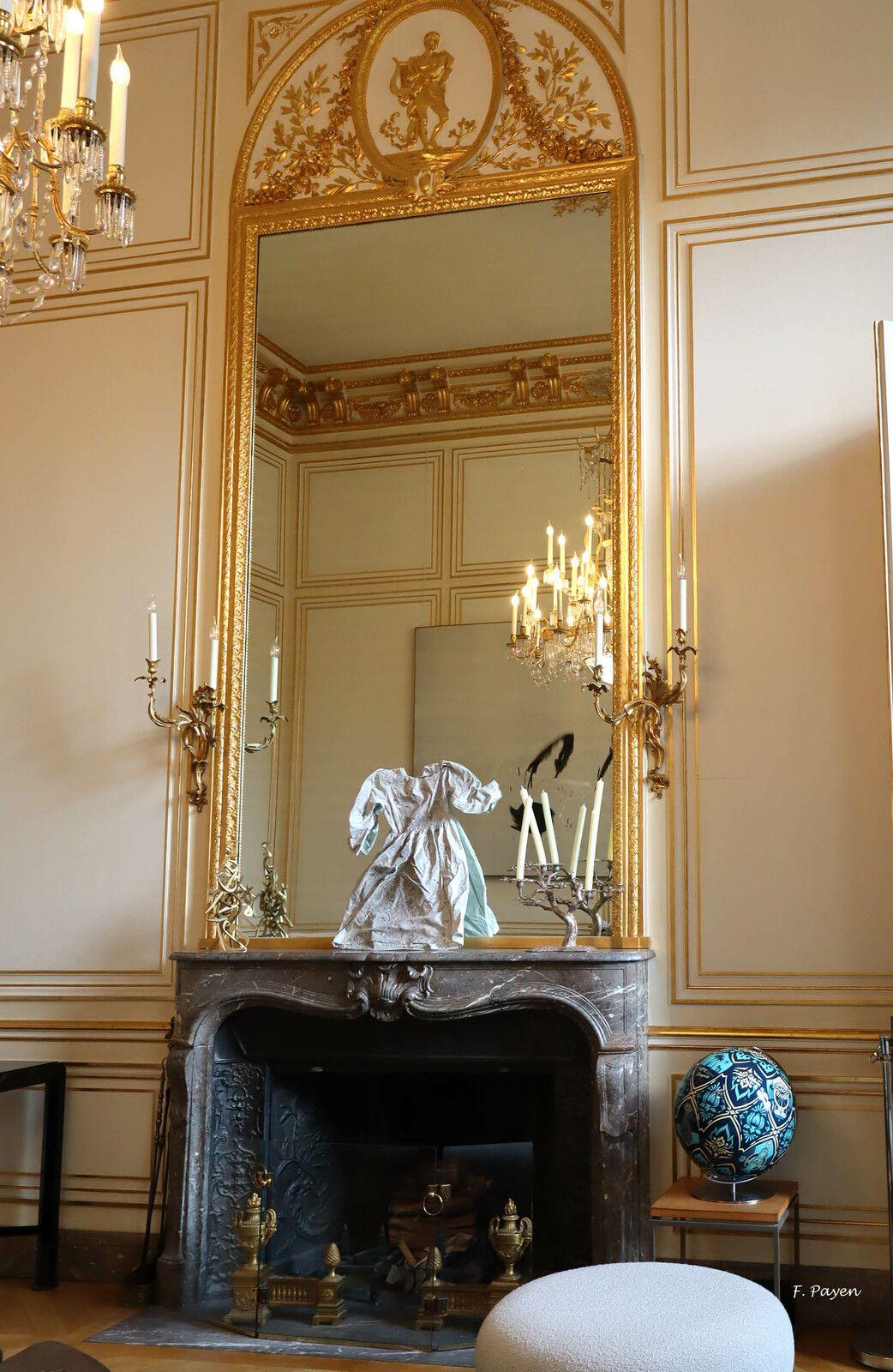 Palais de l'Elysée, salon de la cartographie.