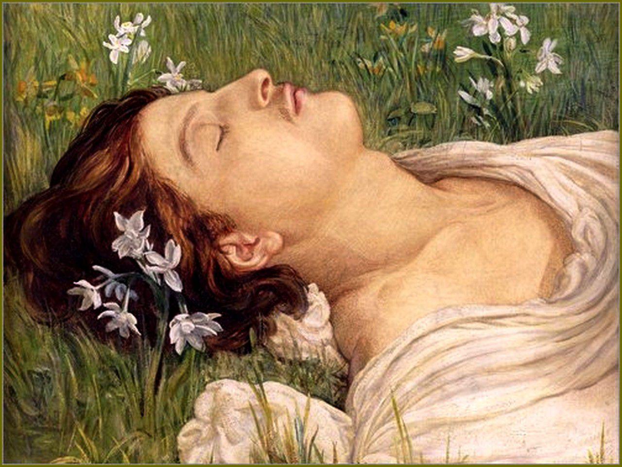 Helen Thornycroft  - Narcissus, 1876.
