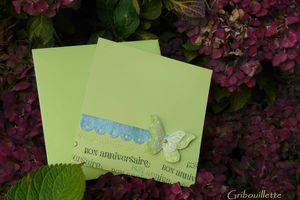 """Carte """"Vert tout doux"""""""