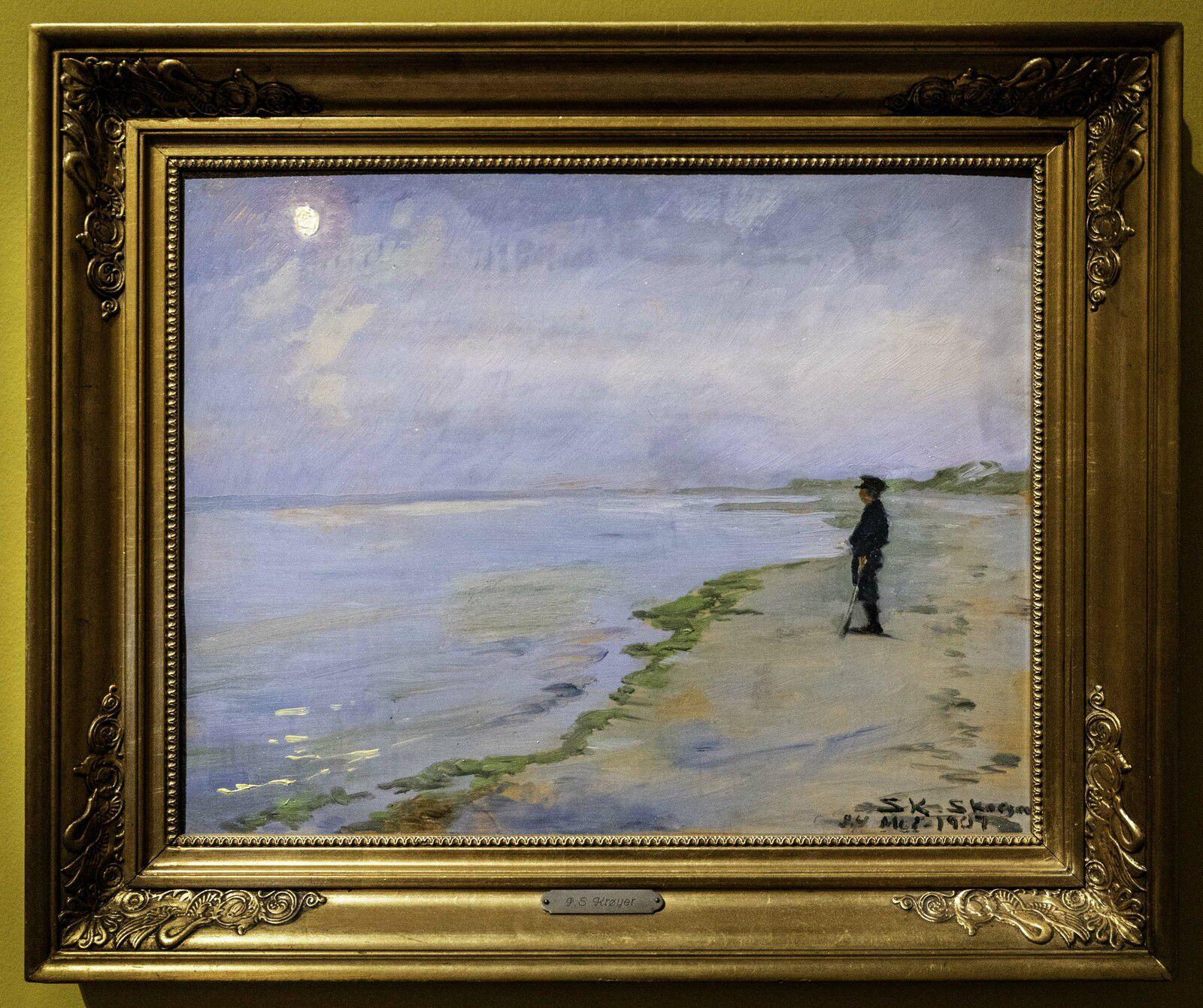 L'heure bleue - 1907 - Peder Severin Krøyer