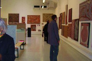 ART CONTEMPORAIN aborigène d'Australie à STRASBOURG du 25 novembre au 13 décembre 2009