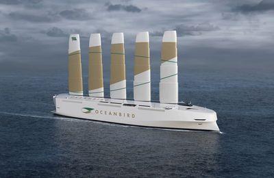 Oceanbird, le plus grand navire à voile au monde