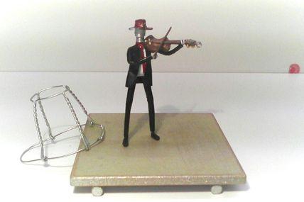 Muselets e t violon