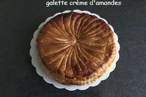 galette des rois/crème d'amande
