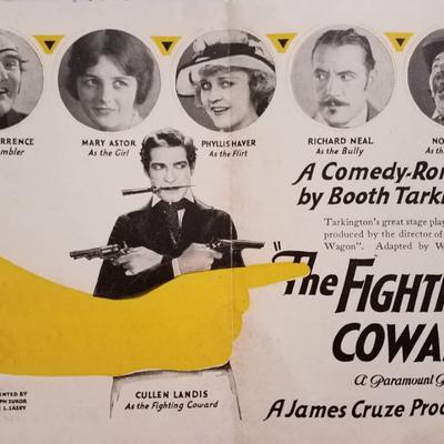 Le Capitaine Blake ! (The fighting Coward - James Cruze, 1924)