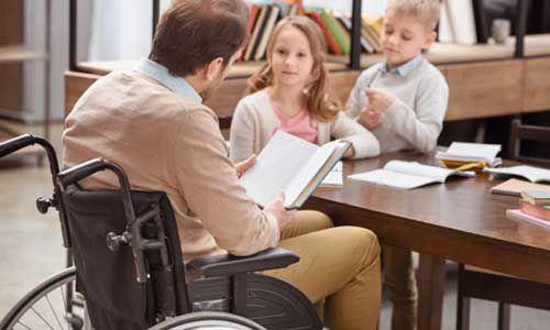 De nouvelles aides pour les parents handicapés