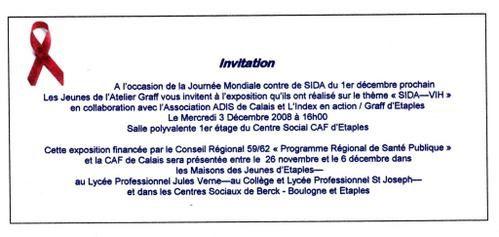 JOURNEE MONDIALE CONTRE LE S.I.D.A.... ETAPLES