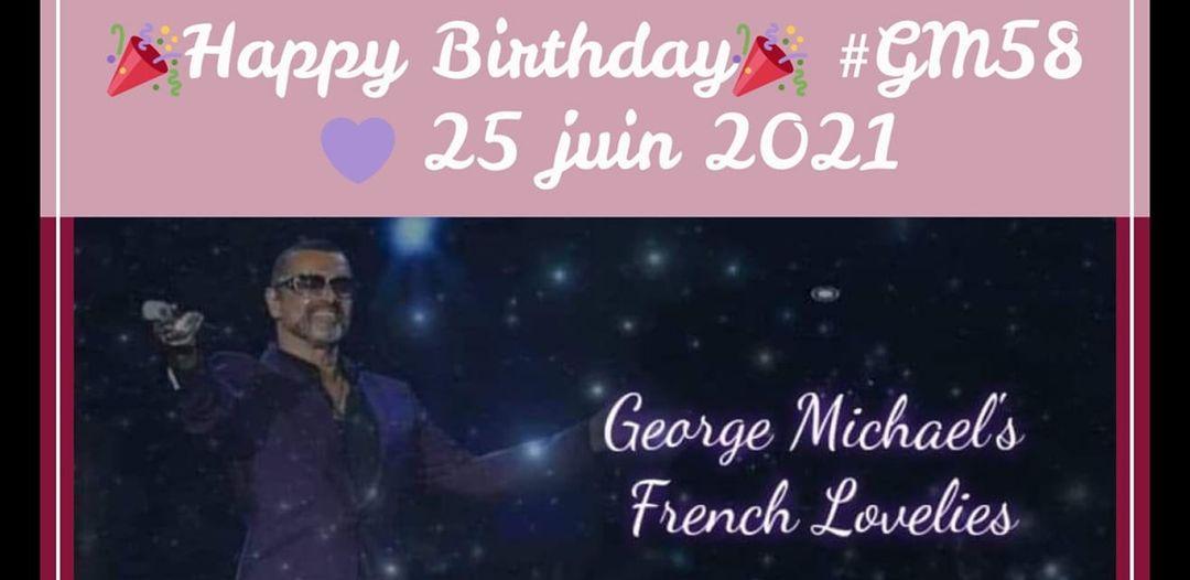 GEORGE MICHAEL - LA JOURNEE D'UNE LOVELIE A PARIS LE 25 JUIN POUR L'ANNIVERSAIRE DE GEORGE !!