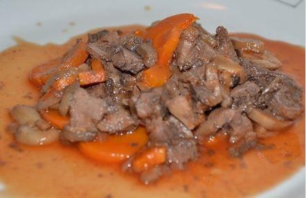 Recette cookeo rapide : rognons à la tomate