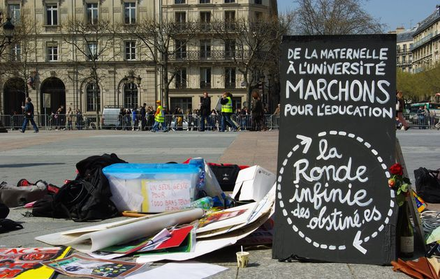 Destination vacances de Pâques : la ronde des obstiné-es à Paris