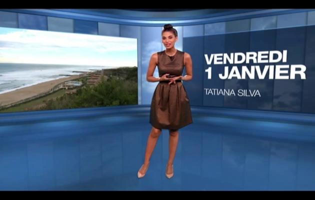 2016 01 01 - LA METEO de TATIANA SILVA sur m6
