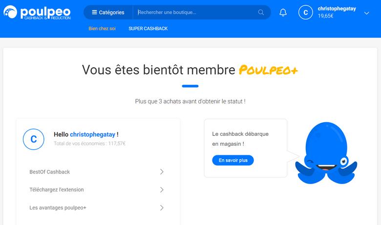 captures d'écran du site de Poulpeo (tous droits réservés) @ Tests et Bons Plans