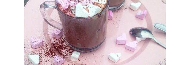 Chocolat chaud au marshmalow ❤