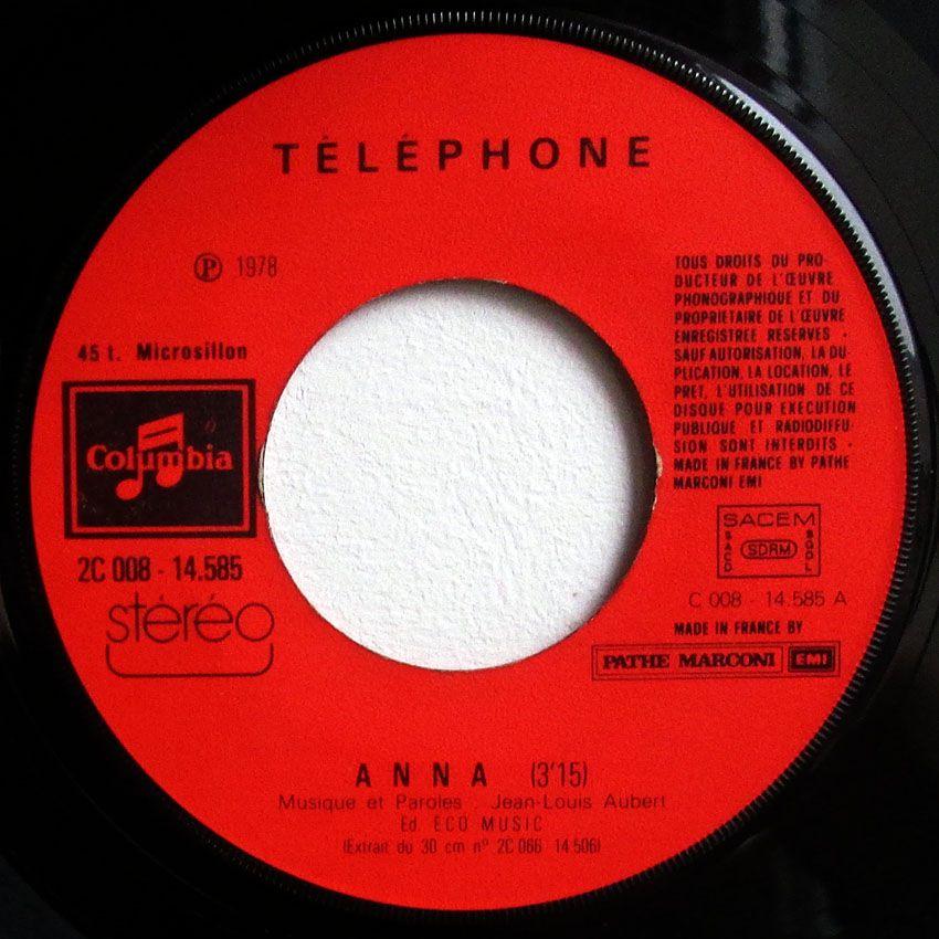 Téléphone - Anna / hygiaphone - 1978