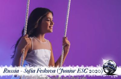 Russia - Sofia Feskova - My New Day (Junior ESC 2020)