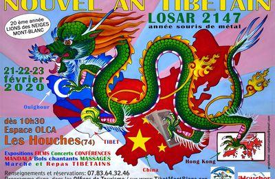 LOSAR 2147 - NOUVEL AN TIBETAIN AUX HOUCHES - 21-22-23 Février 2020