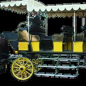 Muse du cheval de trait sacy-le-grand oise(60)picardie, mariage en calche