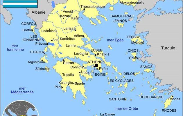 En Grèce sur l'île d'Eubée (Evia) avec Pascal Jarige (20-27 avril 2015) 1e partie
