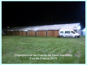 Championnats de France de Semi Marathon. Fort de France 2015