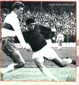FOOTBALL ALGERIE/NÎMES, 16 OCTOBRE 1962