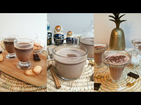 Des recettes de chocolats chauds pour l'hiver