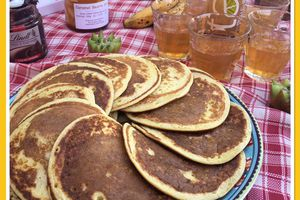 Pancakes healthy et light