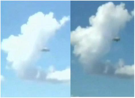 Les extra-terrestres nous enfument avec un nuage