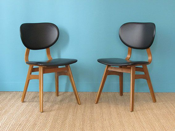 Chaises Scandinaves 1950