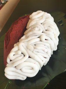 Cervelle Cake, le cerveau sucré à dévorer pour Halloween...
