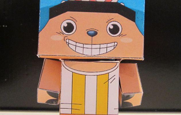 Papercraft 2 - Le retour : Vive les cubics !!!