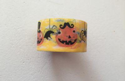 Masking tape halloween