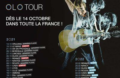 OLO Tour : Reprise de la tournée de Jean-Louis Aubert dès le 14 Octobre !