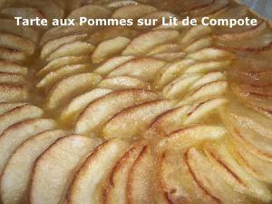 Un Tour en Cuisine #393 - Tarte aux Pommes sur Lit de Compote