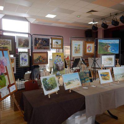Exposition à Saint Jean de la Motte (Sarthe)