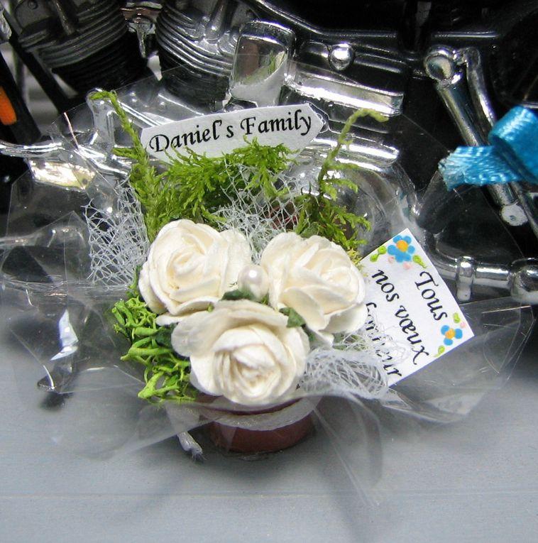 Vitrine cadeau de mariage pour Amandine et Romain.